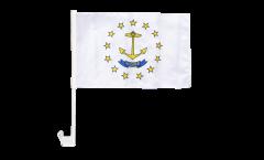 Autofahne USA Rhode Island - 30 x 40 cm