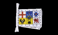 Fahnenkette Australien Royal Standard - 15 x 22 cm