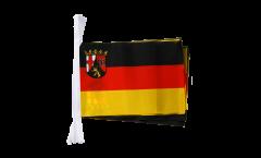 Fahnenkette Deutschland Rheinland-Pfalz - 15 x 22 cm