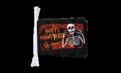 Fahnenkette Happy Halloween 5 - 15 x 22 cm