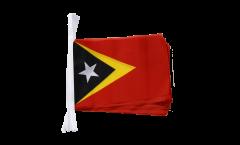 Fahnenkette Osttimor - 15 x 22 cm