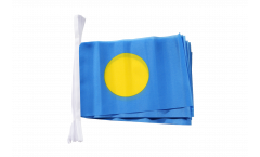 Fahnenkette Palau - 15 x 22 cm
