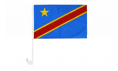 Autofahne Demokratische Republik Kongo - 30 x 40 cm