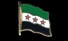 Flaggen-Pin Syrien 1932-1963 / Opposition - Freie Syrische Armee - 2 x 2 cm