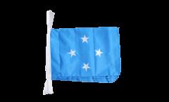 Fahnenkette Mikronesien - 30 x 45 cm