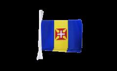 Fahnenkette Madeira - 15 x 22 cm