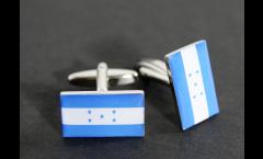 Manschettenknöpfe Flagge Honduras - 18 x 12 mm