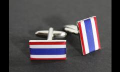Manschettenknöpfe Flagge Thailand - 18 x 12 mm