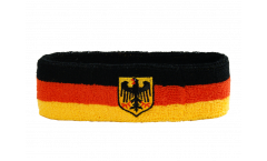 Stirnband Deutschland mit Adler - 6 x 21 cm
