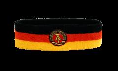 Stirnband Deutschland DDR - 6 x 21 cm