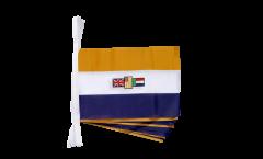 Fahnenkette Südafrika alt - 15 x 22 cm