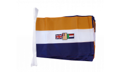 Fahnenkette Südafrika alt - 30 x 45 cm