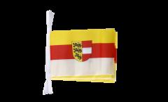 Fahnenkette Österreich Kärnten - 15 x 22 cm