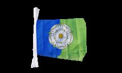 Fahnenkette Großbritannien Yorkshire East Riding - 30 x 45 cm