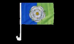 Autofahne Großbritannien Yorkshire East Riding - 30 x 40 cm