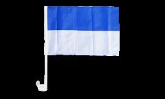 Autofahne Blau-Weiß - 30 x 40 cm