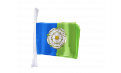 Fahnenkette Großbritannien Yorkshire East Riding - 15 x 22 cm