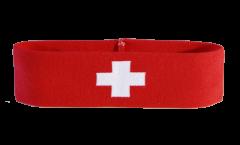 Stirnband Schweiz - 6 x 21 cm