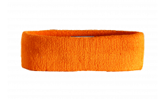 Stirnband Einfarbig Orange - 6 x 21 cm