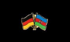 Freundschaftspin Deutschland - Aserbaidschan - 22 mm