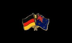 Freundschaftspin Deutschland - Australien - 22 mm