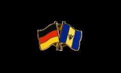 Freundschaftspin Deutschland - Barbados - 22 mm