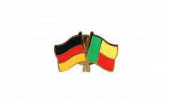 Freundschaftspin Deutschland - Benin - 22 mm