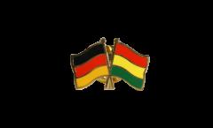 Freundschaftspin Deutschland - Bolivien - 22 mm
