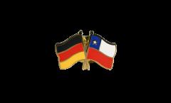Freundschaftspin Deutschland - Chile - 22 mm