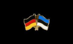 Freundschaftspin Deutschland - Estland - 22 mm
