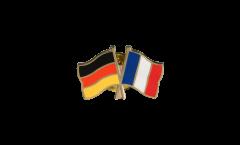 Freundschaftspin Deutschland - Frankreich - 22 mm