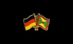 Freundschaftspin Deutschland - Grenada - 22 mm