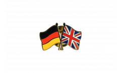 Freundschaftspin Deutschland - Großbritannien - 22 mm