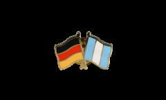 Freundschaftspin Deutschland - Guatemala - 22 mm