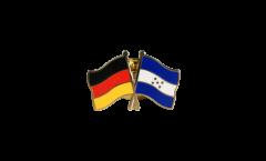 Freundschaftspin Deutschland - Honduras - 22 mm