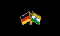 Freundschaftspin Deutschland - Indien - 22 mm