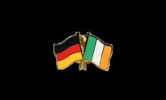 Freundschaftspin Deutschland - Irland - 22 mm