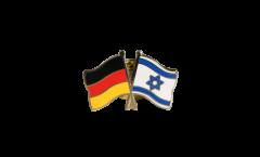 Freundschaftspin Deutschland - Israel - 22 mm