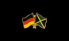 Freundschaftspin Deutschland - Jamaika - 22 mm
