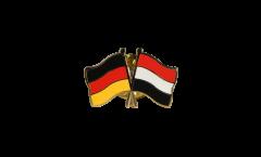 Freundschaftspin Deutschland - Jemen - 22 mm
