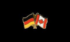 Freundschaftspin Deutschland - Kanada - 22 mm