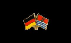 Freundschaftspin Deutschland - Kiribati - 22 mm