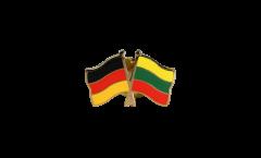 Freundschaftspin Deutschland - Litauen - 22 mm