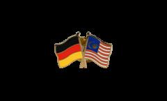 Freundschaftspin Deutschland - Malaysia - 22 mm