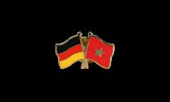 Freundschaftspin Deutschland - Marokko - 22 mm