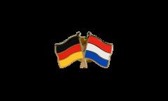 Freundschaftspin Deutschland - Niederlande - 22 mm