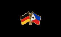 Freundschaftspin Deutschland - Philippinen - 22 mm