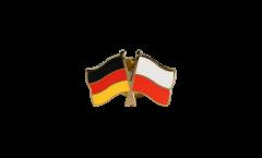 Freundschaftspin Deutschland - Polen - 22 mm