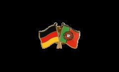 Freundschaftspin Deutschland - Portugal - 22 mm