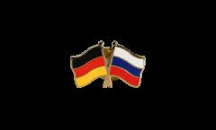 Freundschaftspin Deutschland - Russland - 22 mm